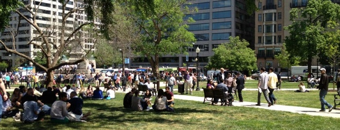 Farragut Square is one of A Not So Tourist Guide to DC.