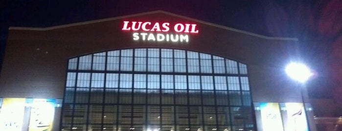 Lucas Oil Stadium is one of Sports Arena's.