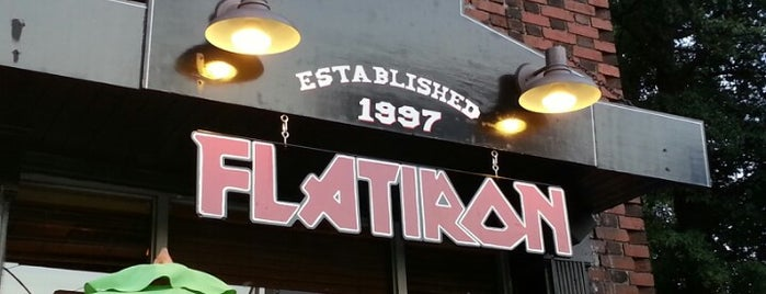 Flatiron is one of Bars I've been to.