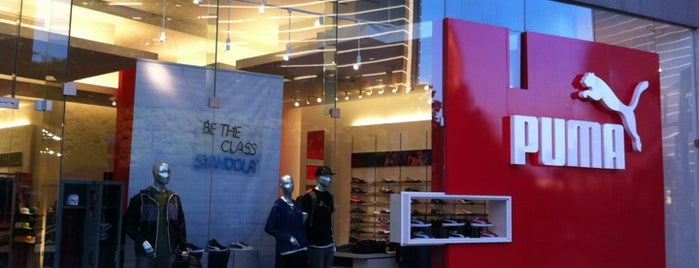 The PUMA Store is one of Пв.