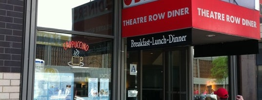 Theatre Row Diner is one of Best Hell's Kitchen Diners.