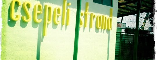 Csepeli Strand is one of Bains.