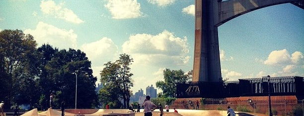 Astoria Park Skate Park is one of The Great Outdoors NY.