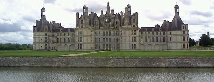 Château de Chambord is one of World Heritage Sites List.