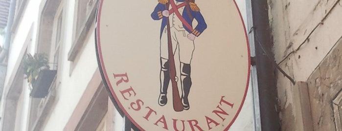 Restaurant au Grenadier is one of schon gemacht 2.