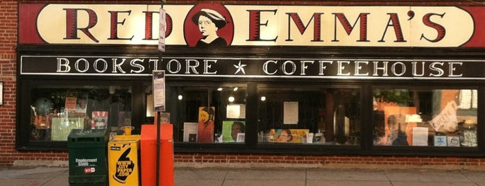 Red Emma's Bookstore Coffeehouse is one of More Coffee PLEASE!.