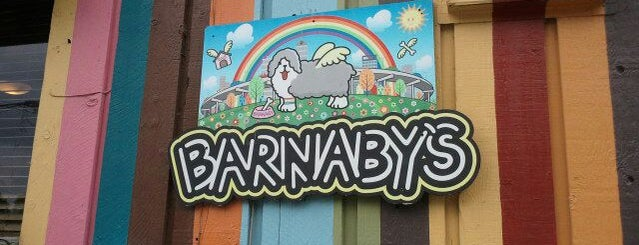 Barnaby's Cafe is one of HOU via John Dwan.