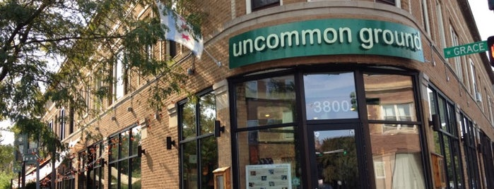 Uncommon Ground is one of Chicago Casual Food 🥘🍝🌮.