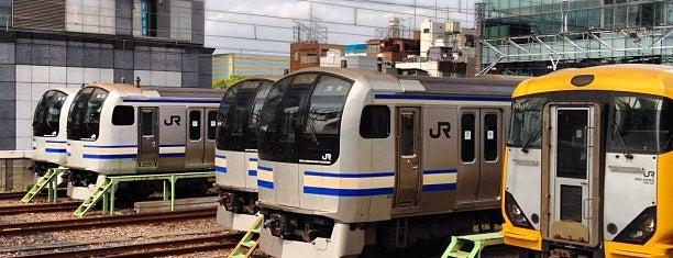 JR 錦糸町駅 is one of JR東日本 ポケモンスタンプラリー2013 -ポケモンを仲間にして、街の平和を取り戻せ!-.