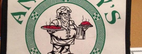 Anthony's Pizza is one of Tempat yang Disukai Molly.