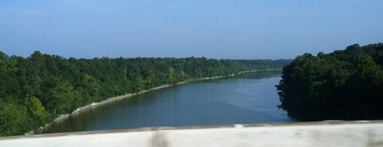 Tombigbee River is one of To Gadsden.