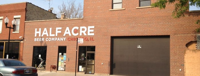 Half Acre Beer Company is one of Chi Town.