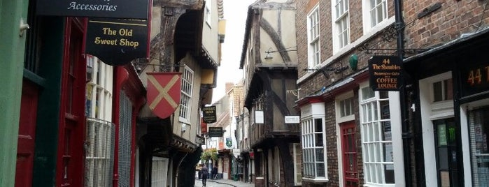 The Shambles is one of UK unseen.
