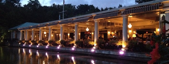 The Loeb Boathouse is one of #StarcatcherSummer.