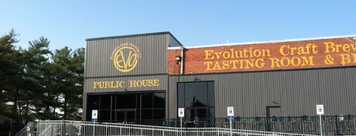 Evolution Craft Brewing Co. Public House is one of Breweries.