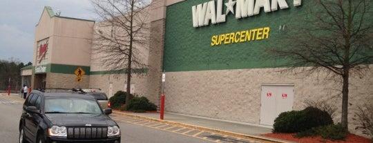 Walmart Supercenter is one of Work Todo's.