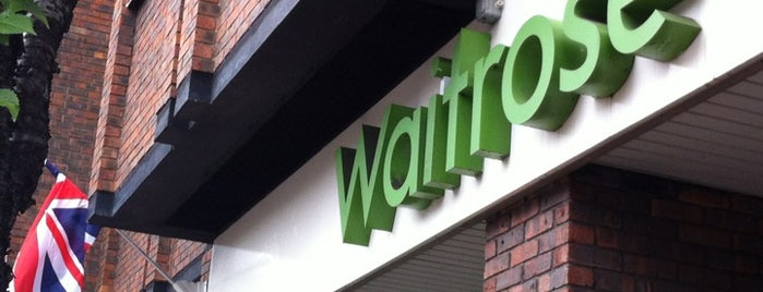 Waitrose & Partners is one of Chris 님이 좋아한 장소.