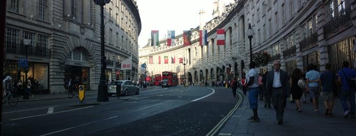 Regent Street is one of Londra.