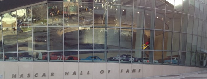 NASCAR Hall of Fame is one of Musts...Charlotte, NC.