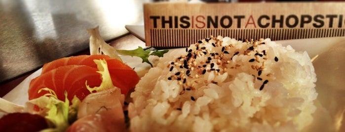 This Is Not A Sushibar is one of Milano.