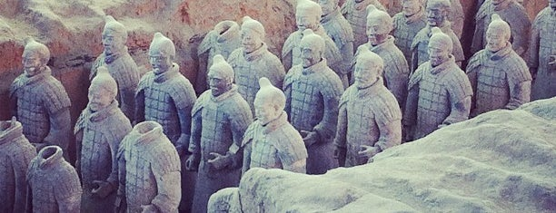 Museum of the Terracotta Warriors and Horses of Qin Shihuang is one of World Heritage Sites List.