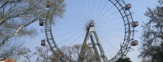 Wiener Riesenrad is one of Vienna.