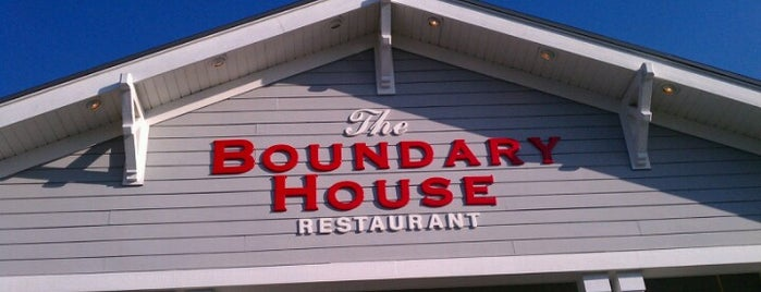 The Boundary House Restaurant is one of ocean isle.