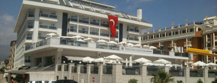 White Gold Hotel is one of Alanya Otelleri.