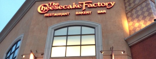 The Cheesecake Factory is one of NYC's to-do list.
