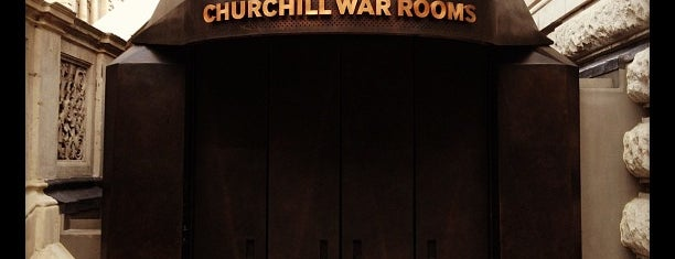 Churchill War Rooms (Churchill Museum & Cabinet War Rooms) is one of Tempat yang Disimpan Arran.