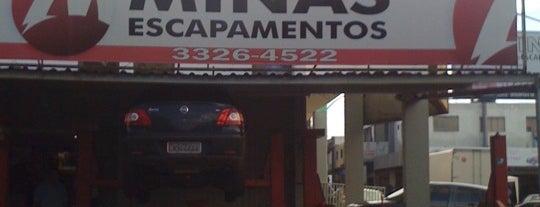 Minas Escapamentos is one of Serviços @ Brasília.