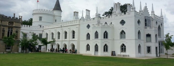 Strawberry Hill House is one of London to do's.