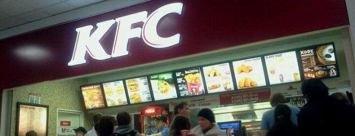 KFC is one of Max : понравившиеся места.