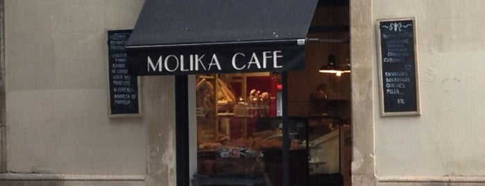 Molika Cafe is one of Barcelona 2018.