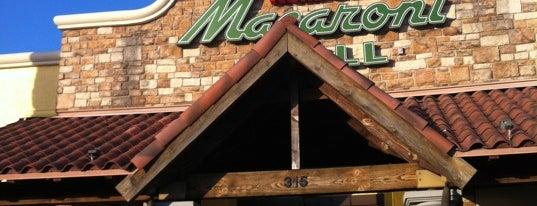 Romano's Macaroni Grill is one of สถานที่ที่ Amne ถูกใจ.