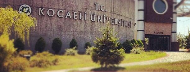 Kocaeli Üniversitesi is one of Barış ☀️ : понравившиеся места.
