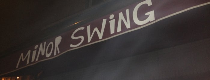 Minor Swing is one of Favourite spots in Ghent.