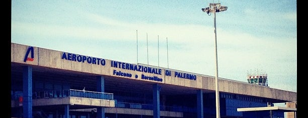 Aeroporto di Palermo (PMO) is one of Airports I've been.