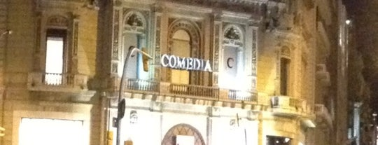 Comedia is one of Lista Cris B..