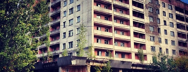 Прип'ять / Pripyat is one of Lugares favoritos de Andrey.