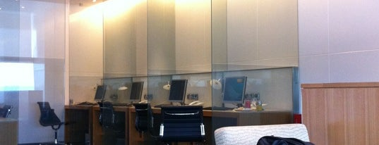 Cathay Pacific First and Business Class Lounge is one of Airports.