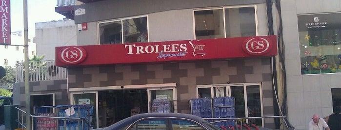 Trolees Supermarket is one of Orte, die Sofia gefallen.