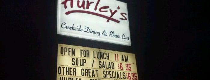 Hurley's Creekside Dining & Rhum Bar is one of Locais curtidos por Jeff.