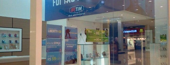 TIM is one of Blumenau Norte Shopping.