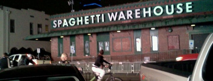 Spaghetti Warehouse is one of Austin x SXSW.