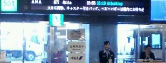 Gate 501 is one of 羽田空港 第2ターミナル 搭乗口 HND terminal2 gate.