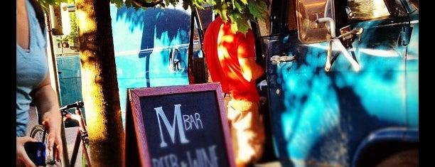 M Bar is one of Portland.