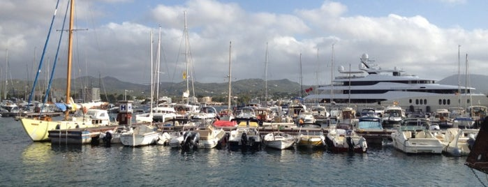 Port Sant Antoni is one of Ibiza EDM Summer.