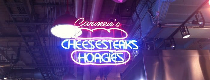 Carmen's Famous Italian Hoagies is one of Eat as the Obamas.