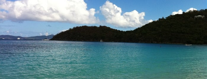 Cinnamon Bay is one of U.S. Virgin Islands.